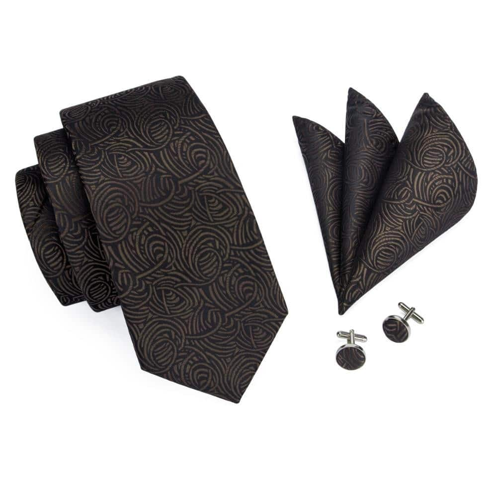 Cufflinks and Pocket Square Sets