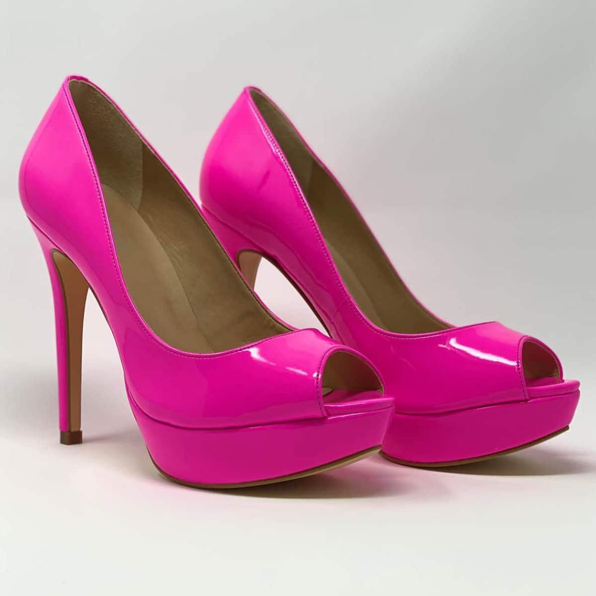 Neon Pink Platform