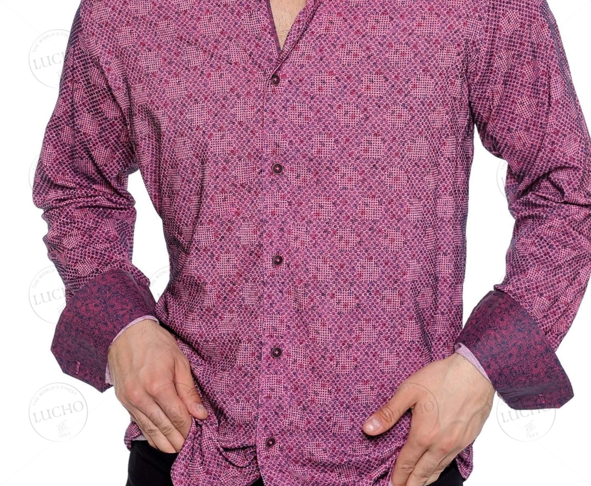 LUCHO Casual Button-Down Shirt